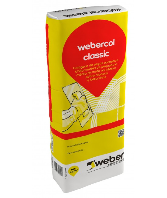 Webercol classic cinza